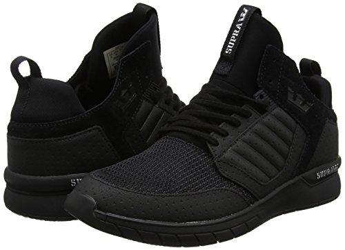 Shoe Unisex Skate Black black Method Supra Adults' AqZqI