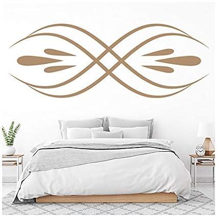 Amazon.com: banytree Symmetrical Swirl Wall Sticker ...