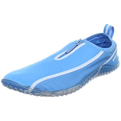 Speedo Women's ZipWalker Water Shoe,Ocean Blue,5 M US