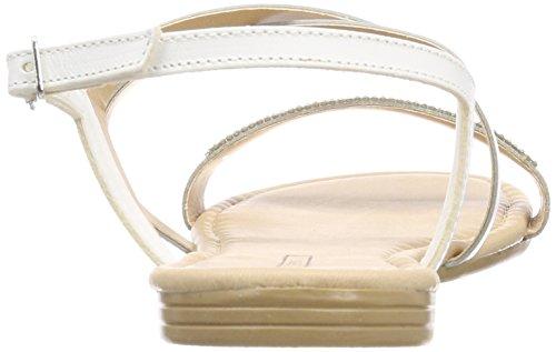 ESPRIT Women's Tosha Ankle Strap Sandals Grey (Silver 090) YnZdd