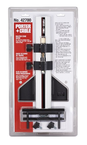 PORTER-CABLE 42700 Edge Guide (for Models 7518, 7519, 7529, 7536, 7537, 7538, 7539 Routers)