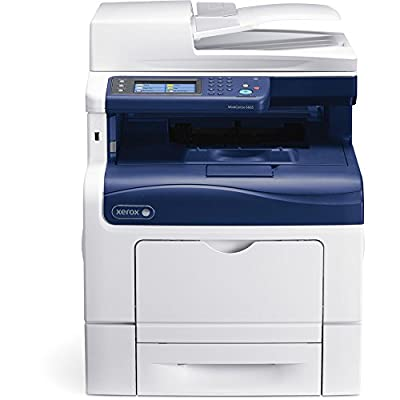 Used Xerox WorkCentre 6605N Color Laser MFP Printer Copier Scanner 55 PPM