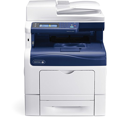 Refurbished Xerox WorkCentre 6605/N A4 Color Multifunction Printer - 36 ppm, 1200 dpi, 700 Sheets, 533 MHz Processor, 512 MB Memory, Optional Duplex/Wifi/Hard Drive (Phaser Memory Scanner)