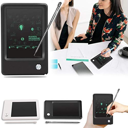 Asatr 4.5inch LCD Display Digital Writing Board Writing Drawing Notepad Kids Skirts