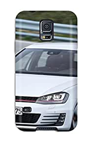 Snap-on New Car Reviews Case Cover Skin Compatible With Galaxy S5