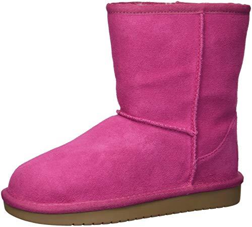 Koolaburra by UGG Girls' K KOOLA Short Fashion Boot, Raspberry Rose, 13 Medium US Little Kid (Ugg Rosen Boots)