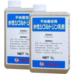 金鳥 水性シフルトリン乳剤 1L×2本 不快害虫用 B07QJ24VTV
