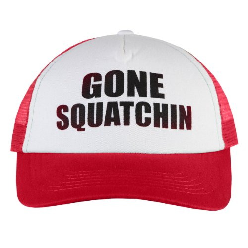 Finding Bigfoot Gone Squatchin' Hat - Red