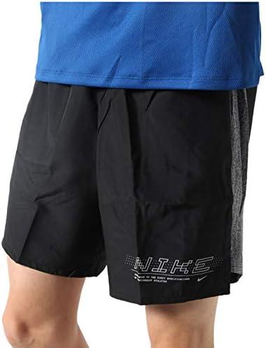メンズ ランニングウェア チャレンジャー BF GX 7インチ ショート ブラック/(リフレクトシルバー) CJ5355 010