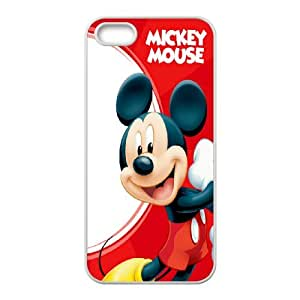 Personalized Creative Mickey Mouse For iPhone 5, 5S LOSQ253152