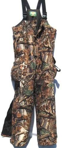 CABELA'S REVOLUTION Fleece Dry-Plus Insulated Hunting BIBS (Seclusion 3D, Large)