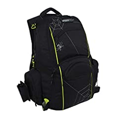 The Spiderwire Fishing Backpack is perfect for anglers who have to trek to their spot and need the convenience, comfort and storage this pack brings to the table. The top compartment stores personal items, the middle cooler compartment keeps ...