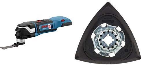 Bosch Professional GOP 18V-28 - Multiherramienta a batería + Bosch AVZ 93 G - Placa lijadora (pack de 1): Amazon.es: Bricolaje y herramientas