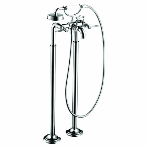 Axor 16553001 Montreux Free Standing Tub Filler with Lever Handle in Chrome