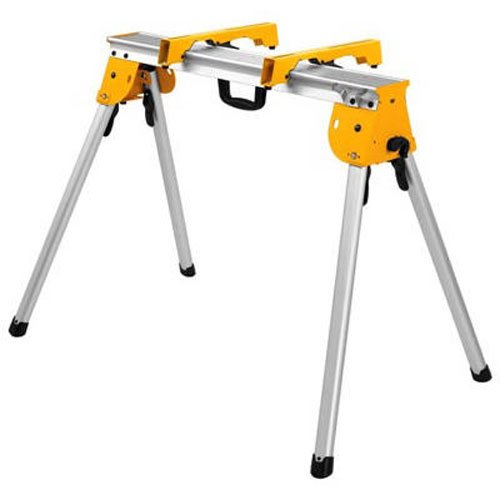 DEWALT Miter Saw Stand, Heavy Duty with Miter Saw Mounting Brakets, Tool Only (DWX725B)
