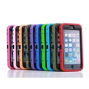 QYF PC+TPU Dustproof waterproof shockproof Touch Screen Cover Case for iPhone 6(Assorted Color) , Rose