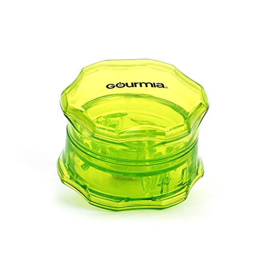 Gourmia GCU9260 Manual Garlic Twist BPA Free No Press Garlic Peeler & Crusher 7.2 cm [Diameter] x 4.8 cm [Height]