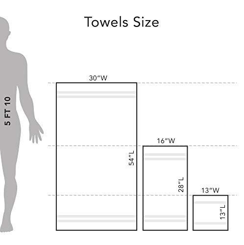 Martex Purity Bath Sheet Set 2 Pack, Optical White by Martex (Image #2)