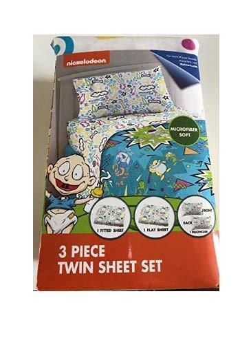 Rugrats 3 piece twin sheet]()