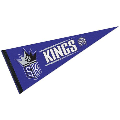 NBA Sacramento Kings WCR63838215 Carded Classic Pennant, 12'' x 30'' by WinCraft
