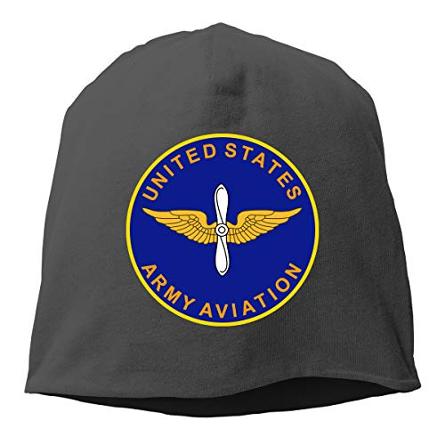 ZETALL US Army Aviation Helmet Liner Thin Skull Cap Beanie Hip Hop Hat Black