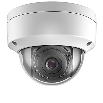 Onvif 2MP(1080P) Outdoor/Indoor PoE IP Vandal Dome Camera, 2.8mm Lens Wide Angle, IP66 Outdoor Rated by Real HD
