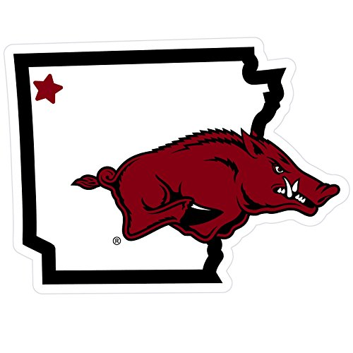 (Siskiyou NCAA Arkansas Razorbacks Home State Magnet,)