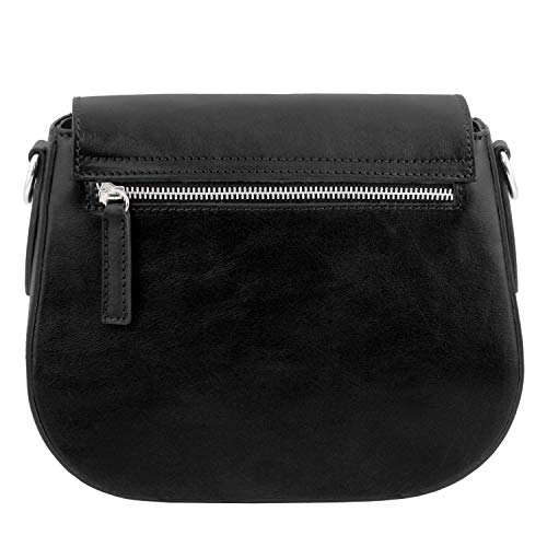 Tl Tuscany Miel En Negro Leather Bolso Neoclassic Piel FwH5x1wvq
