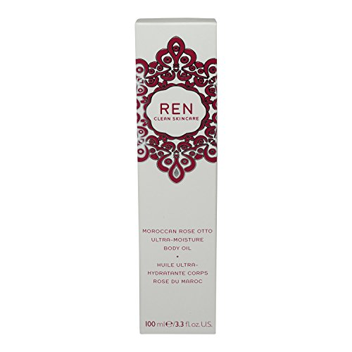 (Ren Moroccan Rose Otto Ultra Moisture Body Oil, 3.3 Fluid Ounce)