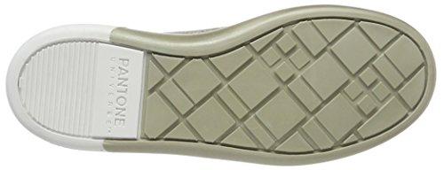 Pantone Unisex Adulti Nyc Low Sneaker Argento (argento)
