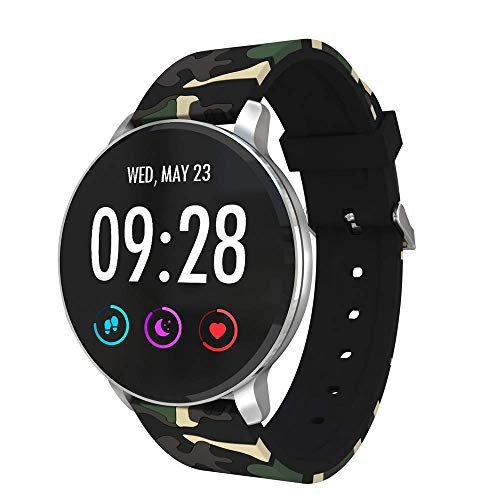 Price comparison product image Jennyfly Sport Bracelet,  1.3 inch Touch Control Screen Bluetooth IP68 Waterproof Sport Smart Watch Health Smart Wristband WIith Heart Rate / Blood Pressure Monitor Fitness Tracker for Android iOS