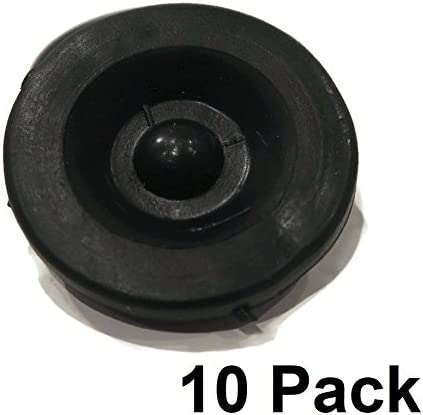 New Black Rubber Grease Plug Hub Dust Caps for AL-KO Trailer Camper RV Axle 10 The ROP Shop