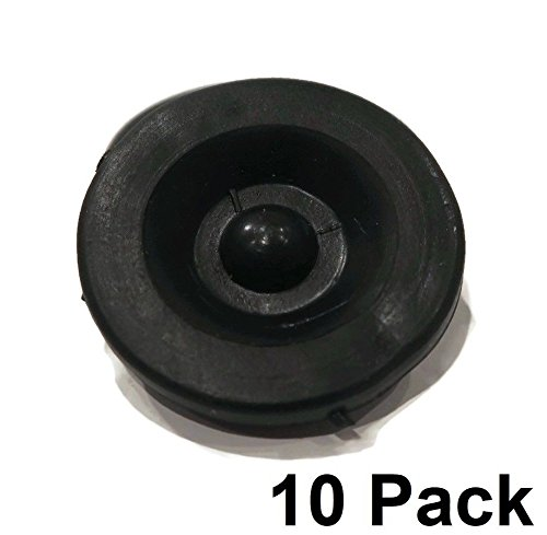 - The ROP Shop (10) New Rubber Grease Plug Hub Dust Caps for Dexter EZ Lube Trailer Camper Axle