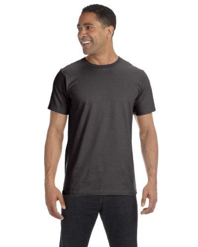 2010 Mens T-shirt Organic - Anvil Mens' Eco-Friendly Lightweight Tee (Smoke) (3X-Large)
