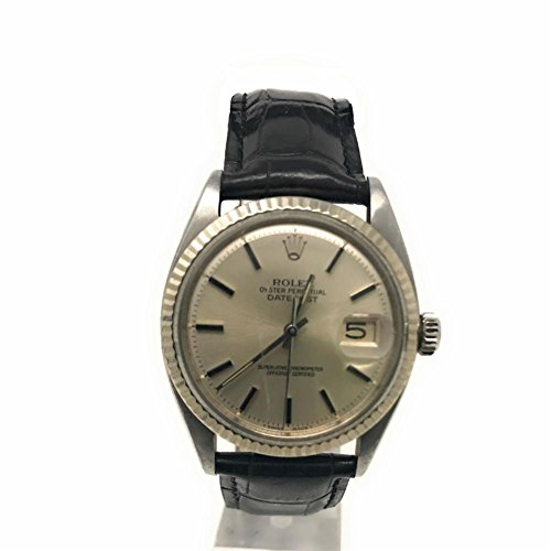 Pre Owned Rolex - Rolex Datejust swiss-automatic mens Watch 1601 (Certified Pre-owned)