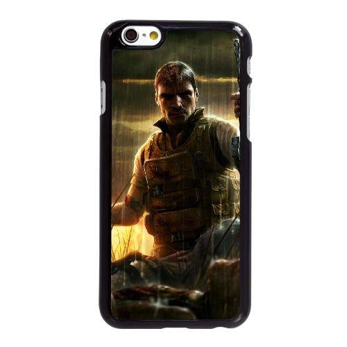 X6P22 Far Cry R6I7DQ coque iPhone 6 Plus de 5,5 pouces cas de téléphone portable couverture de coque noire KK9MEC4GB