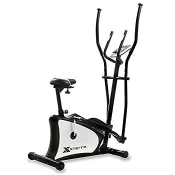 Image of Cardio Training XTERRA Fitness EU150 Hybrid Elliptical/Upright Bike, Black