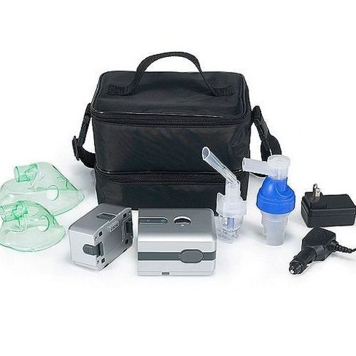Battery Operated Piston Compressor (Battery Included) + Bonus Extra Kit by Traveler