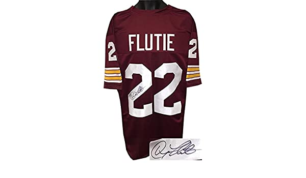 d1c15c678 Doug Flutie Autographed Jersey - Maroon TB Custom Stitched Football Heisman  XL Hologram - JSA Certified at Amazon s Sports Collectibles Store