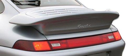 1995-1998 Porsche 993 Duraflex Turbo Look Wing Trunk Lid Spoiler - 1 Piece