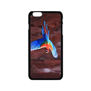 Flying Parrot Hight Quality Plastic Case for Iphone 6