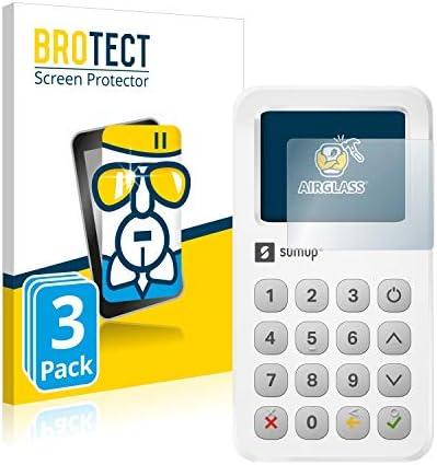 Displayschutz Folie für SumUp 3G Kratzfest Antikratz klar