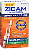 Zicam (80 Count) Pre-Cold Shortening Remedy Medicated Nasal Swabs Natural Homeopathic