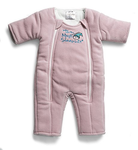 Baby Merlin's Magic Sleepsuit Microfleece - Pink - 3-6 - Psp Eyes 11