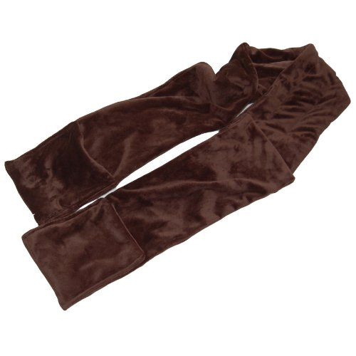 Herbal Concepts Warming Scarf, Dark Chocolate Scarf Dark Chocolate