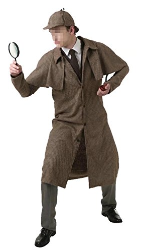 Ameyda Men's Adult Little Boys Kids Spy Detective Costume - Sexy Adult Detective Costumes