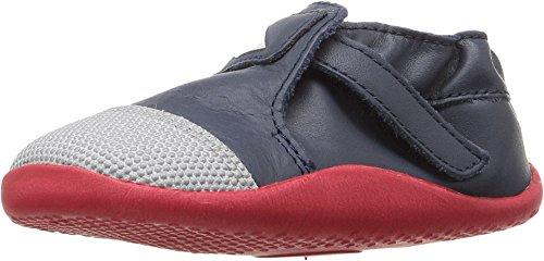 Bobux Kids Baby Boy's Play Xplorer Origin (Infant/Toddler) Navy/Red/White Sneaker 21 (US 5 Toddler) M