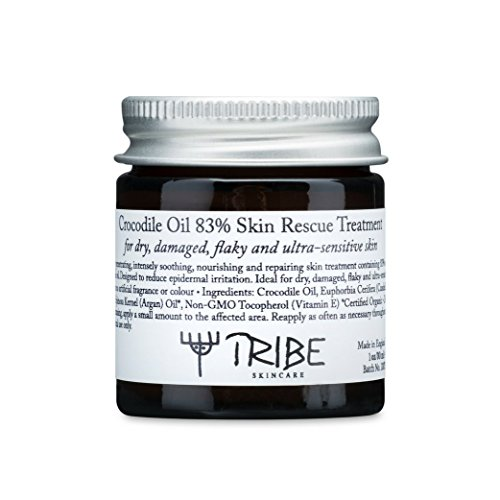 Tribe Crocodile Oil 83% Skin Rescue Treatment for Dry, Damaged, Flaky and Ultra-Sensitive Skin 30ml by Tribe Skincare (Image #1)