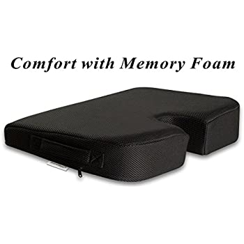 TravelMate Large Medium FIRM Wellness Seat Cushion (Size: 17 X 13 X 3
