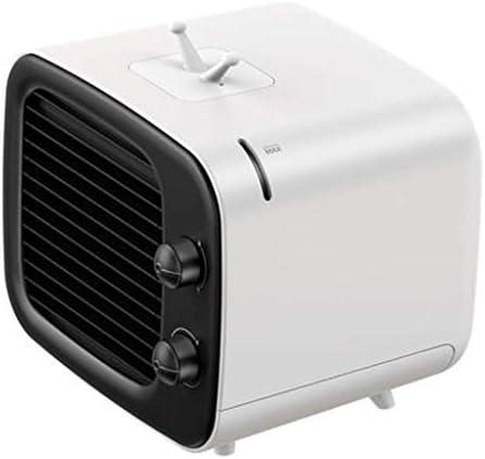 ミニエアコンファンエアコンファン充電することができます冷たい空気ミュートポータブルエアクーラー小さな寮のミュート大きな風オフィステーブル加湿冷却空気クーラー (Color : A, Size : 158*180*164mm)